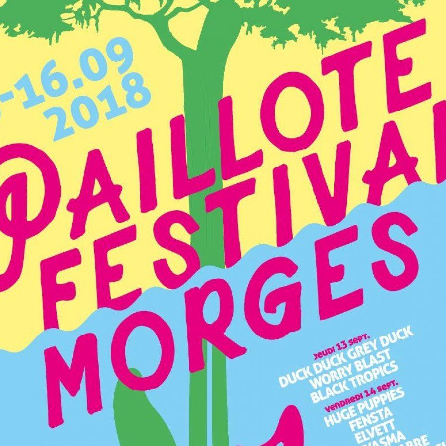 paillote festival affiche
